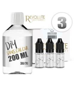 Base 3mg 30/70 200ml par Revolute