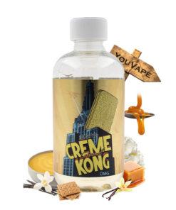 Eliquide Creme Kong Caramel 200ml par Joe's Juice