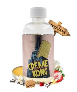Eliquide Creme Kong Strawberry 200ml par Joe's Juice