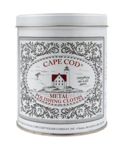 Cape Code, lingettes pour l'entretien et la brillance du métal