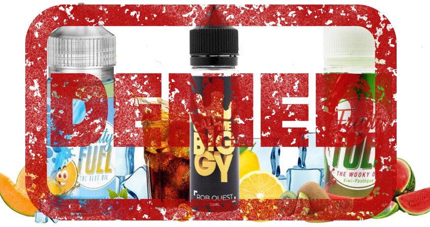 La FDA refuserait toute mise sur le marché de eliquides aromatisés avec autre chose que des arômes de tabac et de menthol. Que se passe-t-il ?